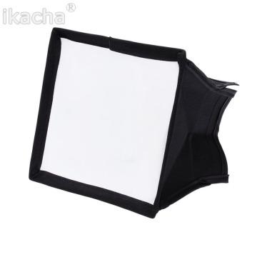 15*17cm Universal Flash Diffuser Softbox Silver Reflector Mini Professional Photo Diffuser Soft Light Box For Canon Nikon Sony