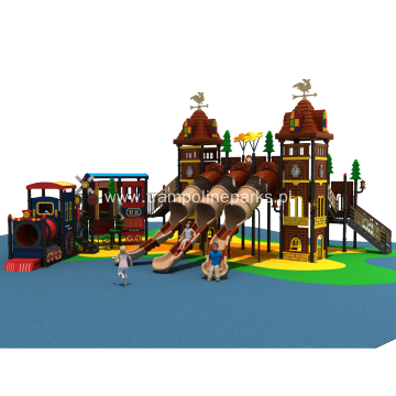 Egoalplay Kids Adventure Play, Plastic Slide Complex