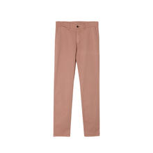 Customized Cotton Spandex Elastane Woven Casual Pant