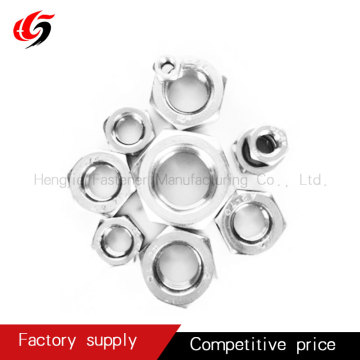carbon steel hex head nut  grade 4.8