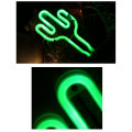 Cactus Custom LED Neon Light Signs Battery Powered