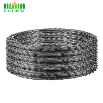 Cross Iron Wire Concertina Razor Type Barbed Wire