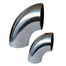 Stainless Steel Seamless 90 Degree Long Radius Elbow
