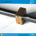 24mm lead screw with trapezoidal thread for Tr24x3