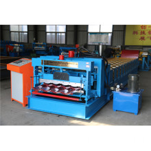 Glazed Tile Corrugated Panel Roll Forming Machine