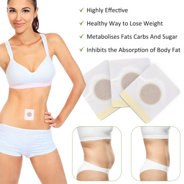 30pcs / Set Chinese Medicine Herbal Blend Navel Stickers Weight Loss Health Care Fat Burning Body Slimming Tools