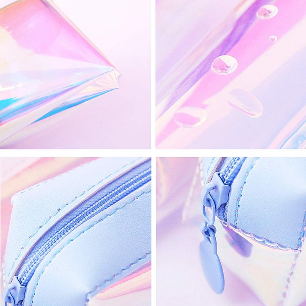 Laser Clear Colorful Pencil Case 2