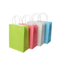 2018 Custom Printed Colorful Gift Paper Bag Christmas