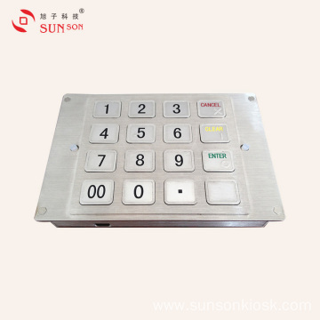 Braille EPP for Unmanned Payment Kiosk