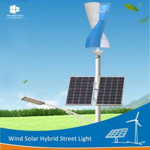 DELIGHT Residential Wind Solar Hybrid Street Light