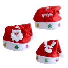 1PC 2020 Christmas Hats Adults Kids Costume Santa Claus Snowman Reindeer Festival Party Hat Ornament For Children New Year Gifts