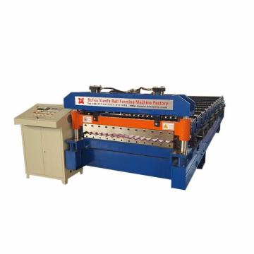 Water Wave Style Metal Panel Roll Forming Machine