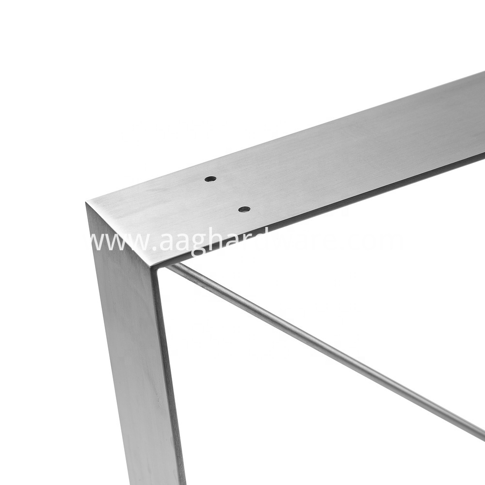 Stainless Steel Furniture Coffee Dinning Table Leg 3