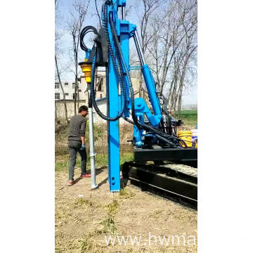 Factory Price Guardrail Installation Hydraulic Pile Driver Machine