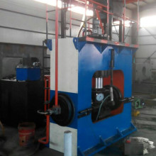 Straight stainless steel tee Machine