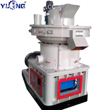 YULONG XGJ560 wood pellet molding machine