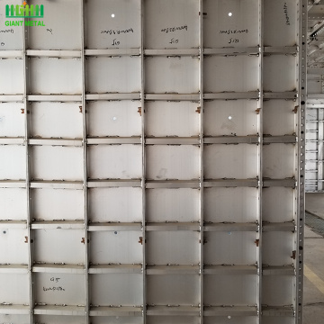 concrete aluminum formwork for home construction