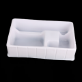 white PS shower head packaging box blister tray