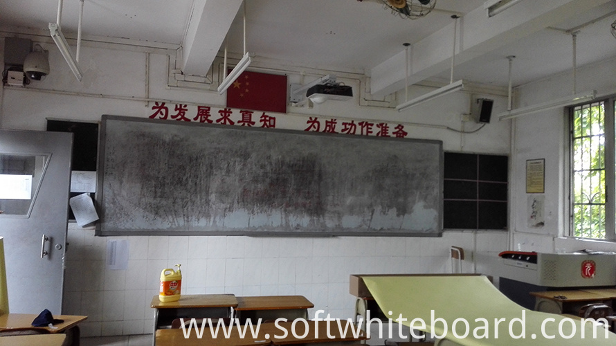 abandon school whiteboard