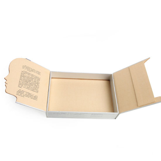 Rectangle Face Shape Irregular Cosmetic Paper Packing Box