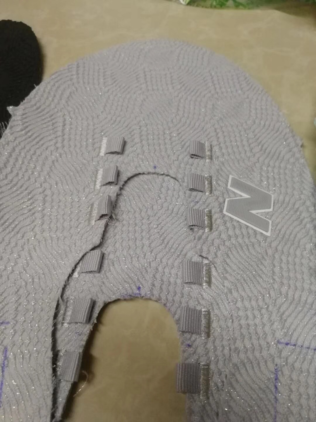 automatic sewing machine for NB shoe