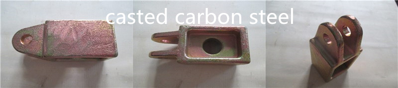 casted carbon steel