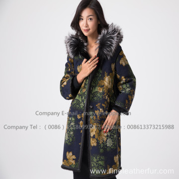 Winter  Fur Overcoat For Lady
