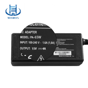 Adapter 15v 4a laptop charger for toshiba