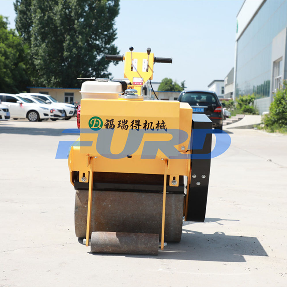 Variable Speed Single Drum Vibratory Road Roller