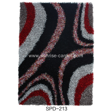 Viscose Shaggy with Fashion Design Carpet