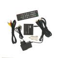 REDAMIGO 1080P MINI Media Player for car HDD MultiMedia Video Player Media box with car Adapter HDMI AV USB SD/MMC HDDK7+C+A