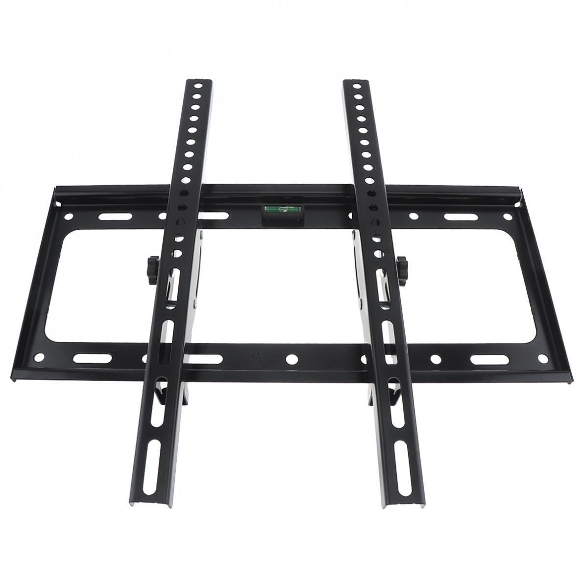 50KG Adjustable 26 - 52 Inch TV Wall Mount Bracket Flat Panel TV Frame Support 15 Degrees Tilt for LCD LED Monitor Flat Pan