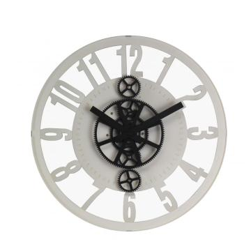 12 Inch Hollowed-out Gear Wall Clock