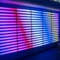DMX led rgb digital tube fixture lighting
