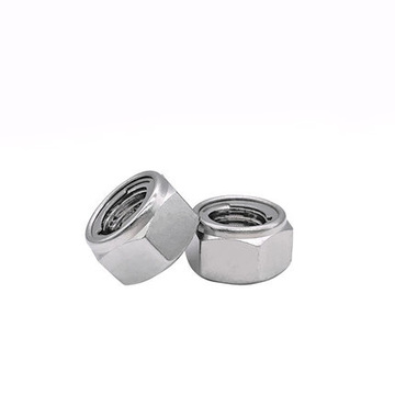 Fasteners All Metal Locknuts Hex Nuts