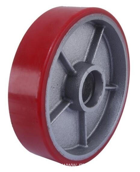 200mm Iron Core Pu Tread Forklift wheel