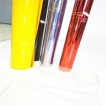 PVC Clear Film for Machine Packing