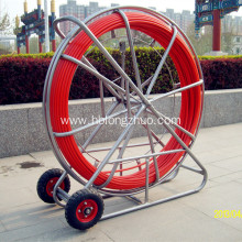 Detectable Duct Rodders 300m Fiberglass Cable Pusher