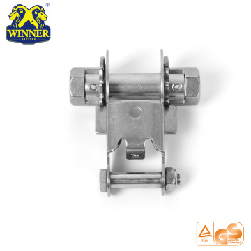 Wrench Drive Steel Stainless Ratchet Buckle For Lashing