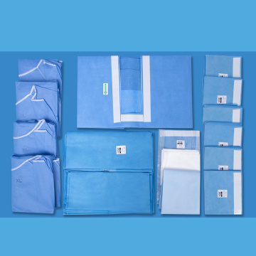 Disposable Surgical Cardiovascular Drape Pack
