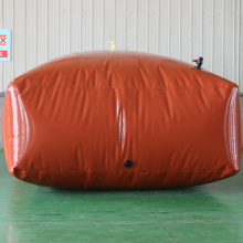 Heat stealing flexible water bladder tank 4000l
