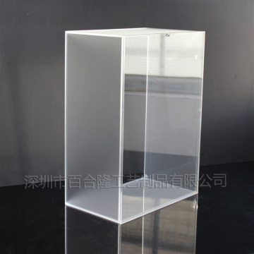 acrylic shoe store display racks