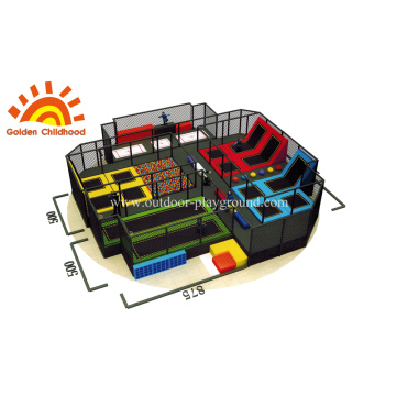 Square Trampoline Park For Children