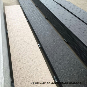 External wall insulation siding panel