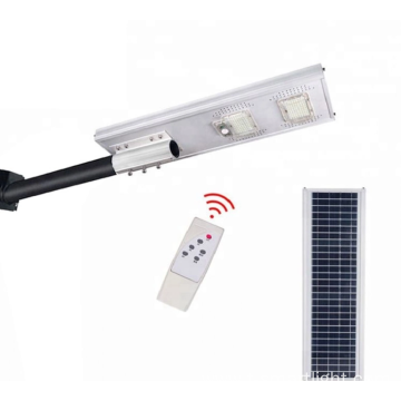 LED solar street light comes with solar panel