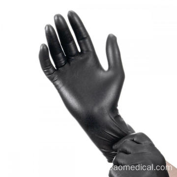 Anti Bacterial Anti-virus Medical Disposable Nitrile Gloves