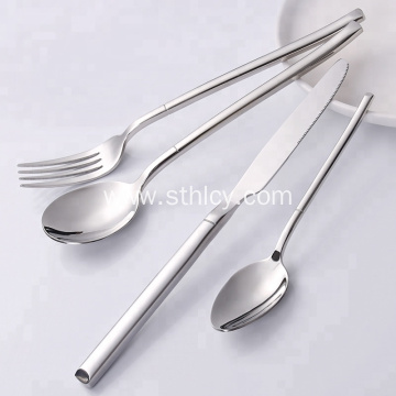 2019 High quality silverware stainless steel flatware set