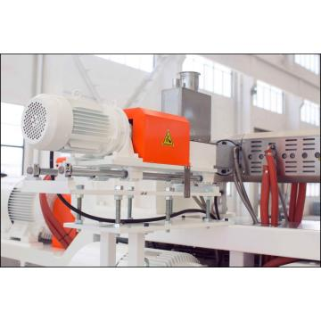 plastic pipe extruder machine