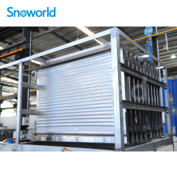 Snoworld Big Capacity Plate Ice Machine Evaporator