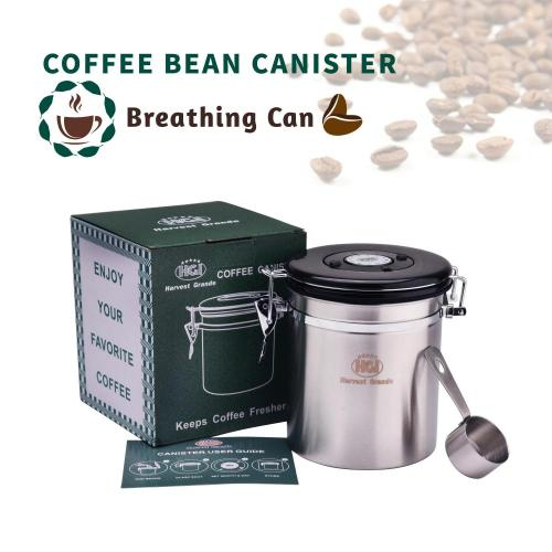 16oz Coffee Storage Canister Airtight
